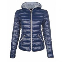 HKM NEW ELLA  NAVY BLUE PADDED QUILTED JACKET